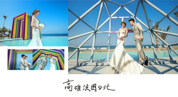 『幻境威尼斯』獨家攝影基地 |旗津彩虹教堂篇
