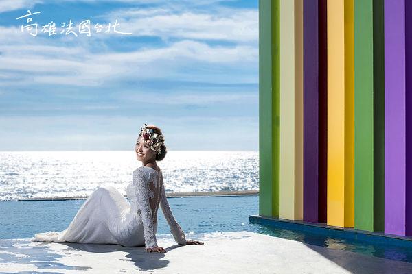 婚紗攝影 『幻境威尼斯』獨家攝影基地  旗津彩虹教堂篇
