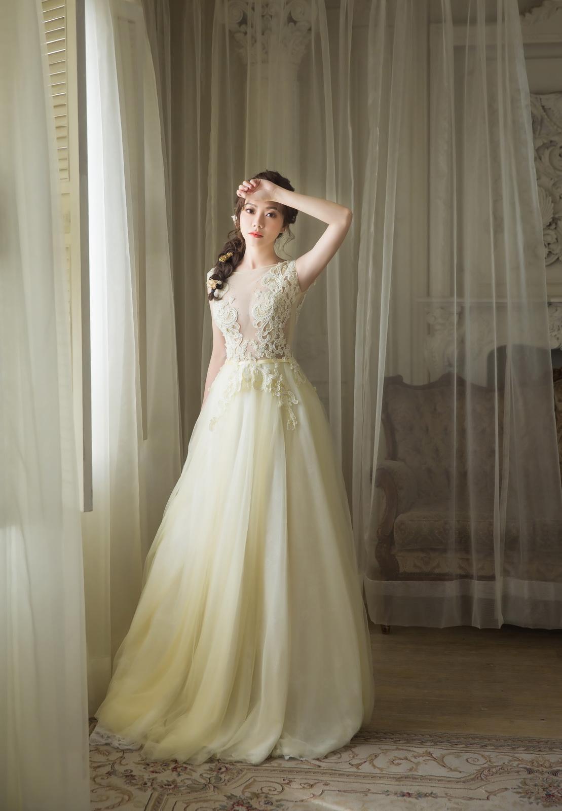 高雄法國台北婚紗|新娘 優雅